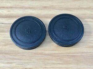 SR - Small Font SR Pedal Caps - Black - old school bmx
