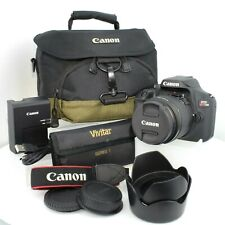 Canon EOS Rebel T100 Digital SLR Camera with  18-55mm F/3.5-5.6 is II Lens Kit