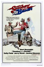 """SMOKEY AND THE BANDIT MOVIE POSTER 12"""" X 18"""""""