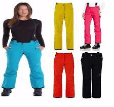 Dare 2b Ladies 10 Slim Stretch Black Stand for Ski Snow Pants Trouser Salopettes