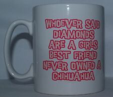CHIHUAHUA RULES Novelty Dog Printed Tea//Coffee Drink Mug Ideal Gift//Present