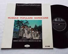 Jean MAZEL- Musique Populaire Marocaine FRENCH LP Disques BAM LD 5435 (197?) EX