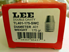 LEE 90431 TL401-175-SWC 175 Grain 40 S&W 10mm Auto Double Cavity Mold