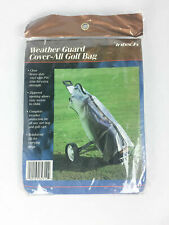 Intech Golf Bag Weather Guard Cover-All Pcv