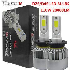 D2S D4S 100W LED Auto Scheinwerfer Kit 6000K Globes Birnen Lampen 20000LM
