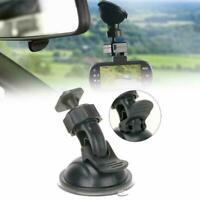 Black Windshield Suction Cup Mount/Holder For Dash DVR Camera Cam Video F4X2