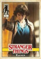 Stranger Things Welcome To The Upside Down CHARACTER Insert Card #1 / ELEVEN