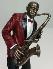 Jazz Band Collection - Saxophone Player Home Decor Statue Sculpture Figurine