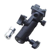 Hot Shoe Mount & paraguas titular e-Flash Speedlite Adaptador Soporte de soporte de la luz
