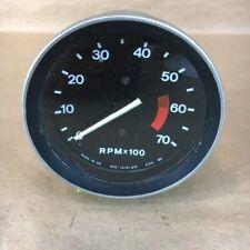 OEM MG Midget 1500 Tachometer RPM Gauge Smiths RVC1414/01F 4CYL 12V Original