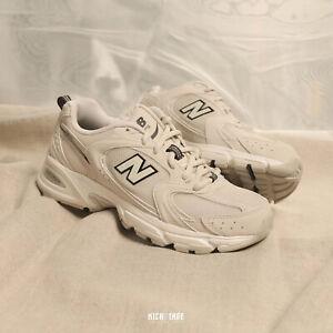 New Balance Retro 530 Unisex Beige White MR530SH D NB Running Shoes Sneakers