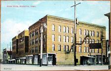1910 Postcard: Hotel Ellis - Waterloo, Iowa IA