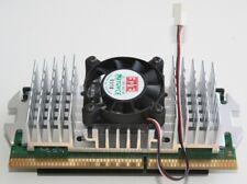 Pentium II 400Mhz completo di dissipatore e ventola a 3 Fili Funzionante