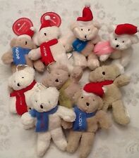 9. - Martha Stewart Christmas BEARS Sugarplum Dreams Tree Ornaments HTF