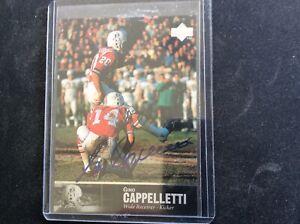 Gino Cappelletti  AUTOGRAPHED 1997 Upper Deck Legends card AL- 84