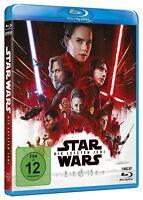 Star Wars - Teil: 8 - Die letzten Jedi [Blu-ray/NEU/OVP](2 Disc) Mark Hamill, Ad