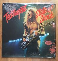 Ted Nugent . State Of Shock . LP VINYL RECORD.Epic