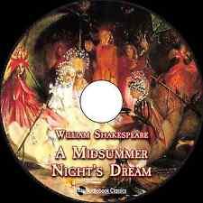 A Midsummer Night's Dream - Unabridged MP3 CD Audiobook in paper sleeve