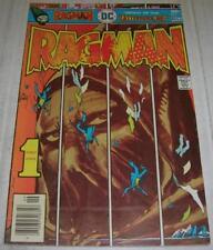 RAGMAN #1 (DC Comics 1976) Origin & 1st appearance RAGMAN (FN) Joe Kubert cvr