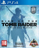 Rise Of The Tomb Raider: 20 Year Celebration - Special Book Edition (PS4) *VGC*