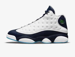 Jordan 13 Retro Obsidian Powder Blue White Men Size 9.5 - 11