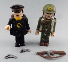 DC Minimates BLACKHAWK & SGT. ROCK complete with weapons display only