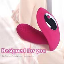 10 Mode Panty Wearable Vibrater Body Massager Wand Rechargeable Remote Control
