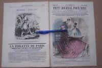 PETIT JOURNAL POUR RIRE  no. 501 1865 - e.a.: PETITES SCIES PARISIENNES- Grévin