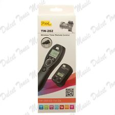 Pixel TW-282 Wireless Timer/Remote Control for Canon DSLR Cameras *CHECK LIST*