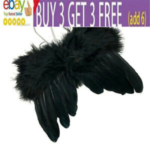 Feather Angel Wings Christmas Halloween Fancy Dress Costume Hen Night Party nl