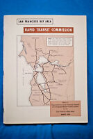 San Francisco Bay Area Rapid Transit Commission - Report - 1956 - BART