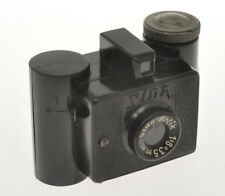 G.P.M. Sida Italian patent, rare subminiature camera in black bakelite, exc++++