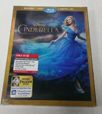 Disney Cinderella Blu-Ray DVD (Includes Exclusive bonus Content) NEW