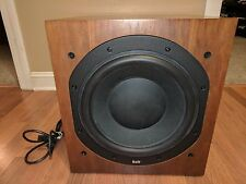 Bowers & Wilkins B&W ASW 750 Walnut Subwoofer with Power Cable