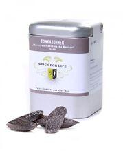 Spice for Life Tonkabohnen ganz - Marzipan Geschmacks Macher - Dose 60 g