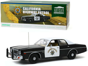 1975 Dodge Coronet - California Highway Patrol 1:18 Limited Edition Artisan Die-