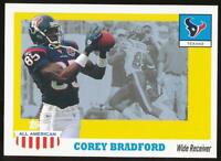 2003 Topps All American Corey Bradford #64 Houston Texans