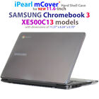 """NEW iPearl mCover® Hard Shell Case for 11.6"""" SAMSUNG Chromebook 3 XE500C13"""