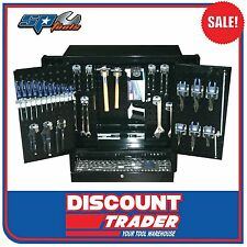 SP Tools 166 Piece Metric/SAE Custom Series Wall Cabinet Tool Kit - SP50851