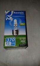 10 x Kosnic 28W ES E27 Clear Halogen Saver GLS Capsule Light Bulb Lamp Job Lot