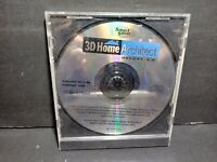 Smart Saver 3D Home Architect Deluxe 3.0 CD ROM Disc Only B346