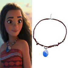 Moana Princess Charm Necklace Principessa Cosplay Costumes Pendant Jewelry New