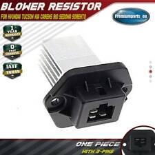 Blower Motor Resistor for Hyundai Tucson JM Kia Carens MK3 Rio MK2 Sedona MK1
