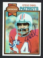 Steve Zabel #262 signed autograph auto 1979 Topps Football Trading Card