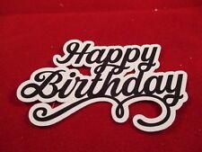 14 HAPPY BIRTHDAY SENTIMENT DIE CUTS