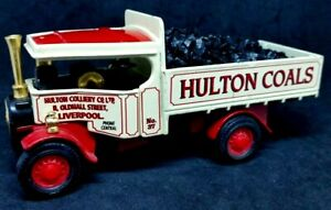 Matchbox Models Of Yesteryear 1/60 - Foden Coal Truck from the Hulton Coals -
