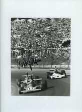 Clay Regazzoni Ferrari 312 B3 Austrian Grand Prix 1974 Signed Press Photograph