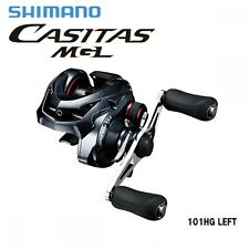 Shimano Casitas MGL 101 LEFT Handle Baitcasting Reel New F/S with Tracking