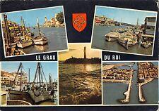 BT4025 Le Grau du roi port de peche syr le vidourle France