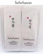 10pcs x Sulwhasoo Brightening Serum,New Snowise Ex Whitening Serum,New Amore